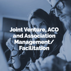 Joint Venture & Association Management/Facilitation