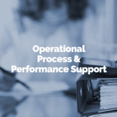 Operational Process & Performance Support