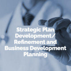 Strategic Plan Development/Refinement and Business Development Planning
